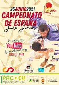 Cartel Campeonato de España de Judo