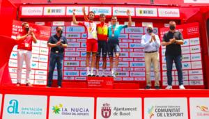 Omar Fraile, nuevo campeón de España