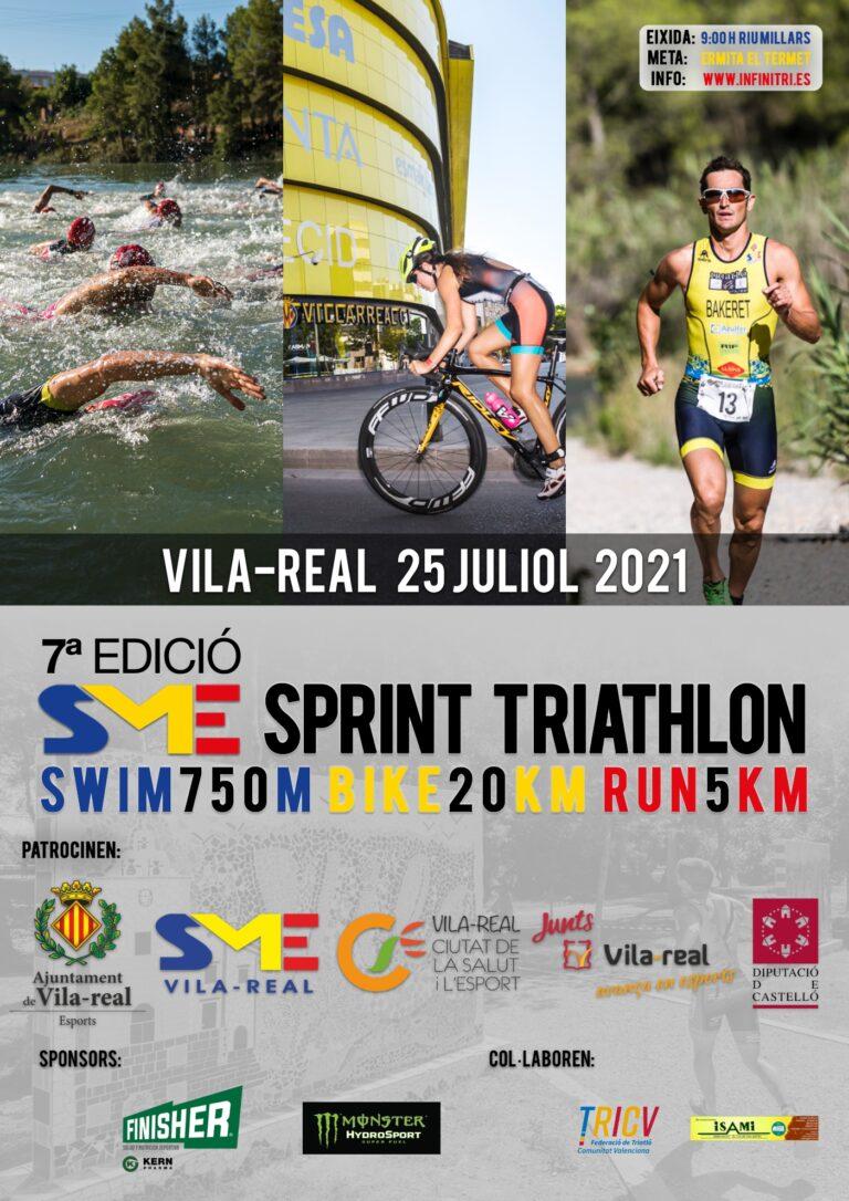 La 7ª edición de Infinitri Sprint Vila-Real vuelve el 25 de julio, fiel a su cita