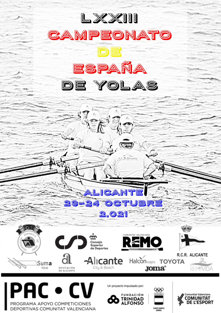 Remo: Campionat d'Espany yolas