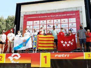 La selección de la Comunitat Valenciana se proclama Campeona de España de Triatlón en Edad Escolar por Autonomías, en categoría cadete