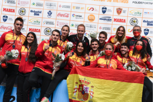 España gana Copa del Mundo de Frontón 30 metros Valencia 2021